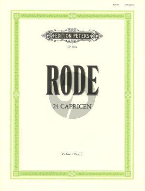 Rode 24 Capricen Violine (Davisson)