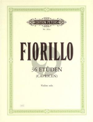 Fiorillo 36 Etuden (Capricen) (Davisson)