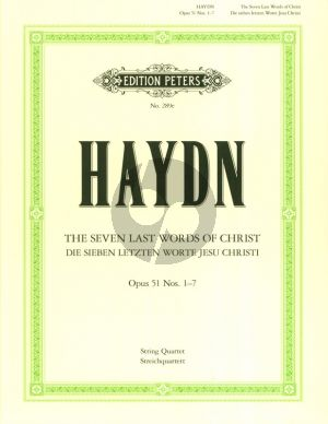 Haydn 7 Last Words Op. 51 (Nos 1 - 7) String Quartet (Parts)