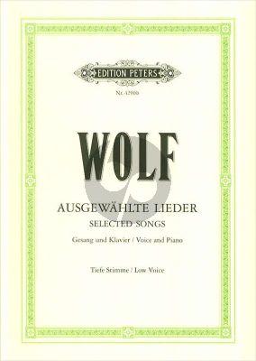Wolf 51 Ausgewahlte Lieder (Tief) (Elena Gerhardt)