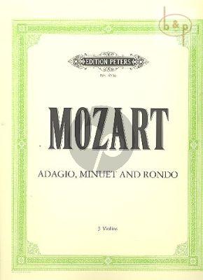 Adagio KV 356[617a] and Minuet & Rondo KV 439b/III