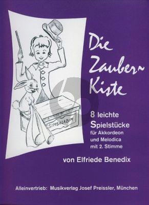 Benedix Die Zauberkiste (8 leichte Spielstücke in Dur und Moll)