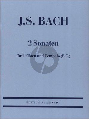 Bach 2 Sonaten D-dur BWV 1028 und g-moll BWV 1029 (Bopp-Muller)