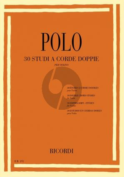 30 Studi a corde doppie (30 Double Chord Studies for Violin