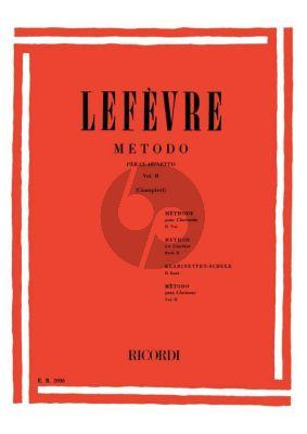 Lefevre Methode Vol.2 Clarinetto (Alamiro Giampieri)