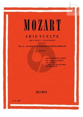 Selected Arias Vol.2 (Soprano/Mezzo-Soprano)