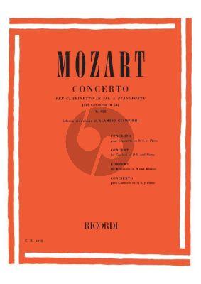 Mozart Concerto A-major KV 622 (Bb Clarinet) (Giampieri)