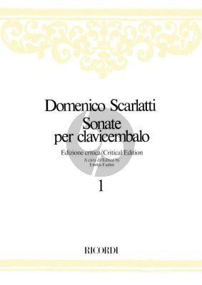 Scarlatti Sonatas per Clavicembalo Vol.1 Fadini