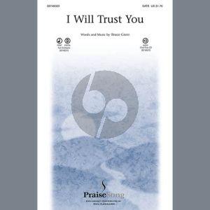 I Will Trust You - Trumpet 1