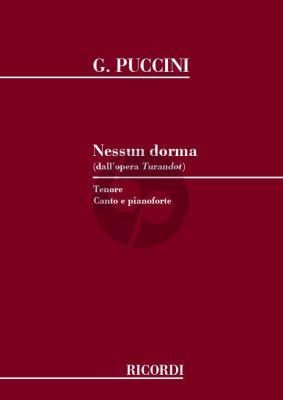 Puccini Nessun Dorma Tenor (Turandot)