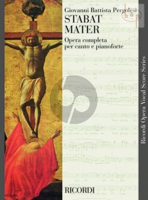 Stabat Mater (Sopr.-Contralto-String Orch.- Organ) (Vocal Score)