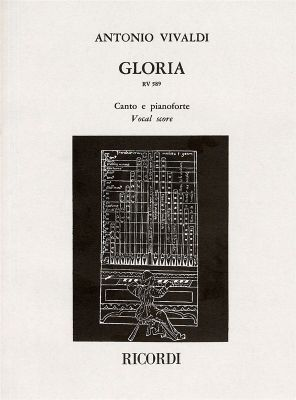 Vivaldi Gloria (RV 589) (Soli[SSA]-Choir[SATB]-Orch.) (Vocal Score)