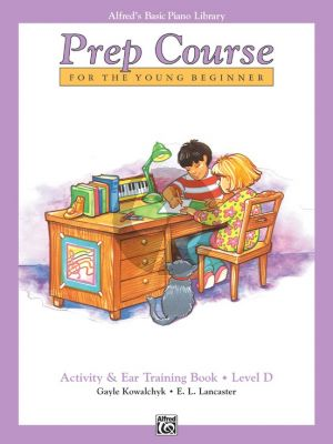 Alfred Prep Course Activity & Ear Training Level D