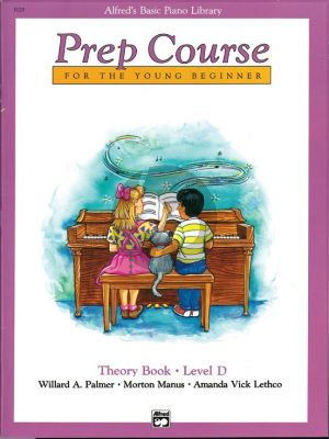 Alfred Prep Course Theory Book Level D