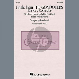 Finale from The Gondoliers (Dance a Cachucha)