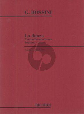 Rossini La Danza (Tarantella Napoletana) (Soprano or Tenor)