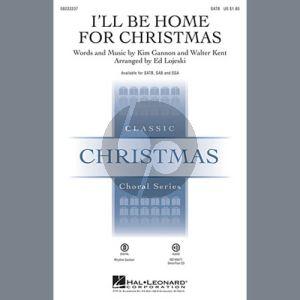 I'll Be Home For Christmas - Bass