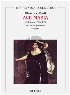 Ave Maria (Soprano) (Otello)