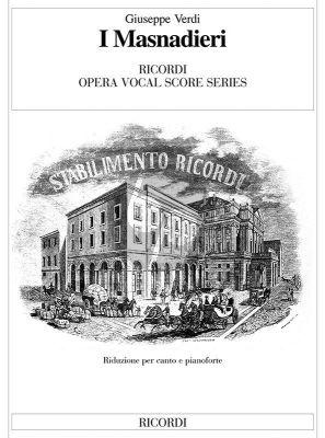 Verdi I Masnadieri Vocal Score (it.)