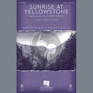Sunrise At Yellowstone - Cello