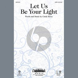 Let Us Be Your Light - Percussion 1 & 2