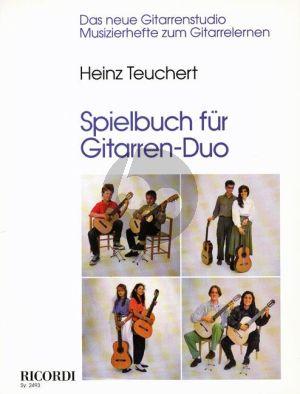 Album Spielbuch fur Gitarren Duo (31 Spielstücke aus drei Jahrhunderten) (Herausgegeben von Heinz Teuchert)