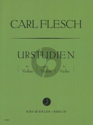 Carl Flesch Urstudien Violine