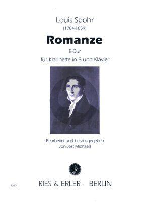 Romanze B-dur Klarinette[B]-Klavier