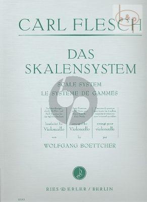 Das Skalensystem Violoncello