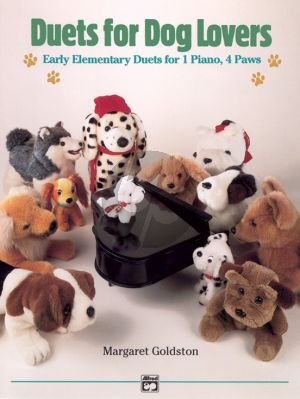Goldston Duets for Dog Lovers Piano 4 hds
