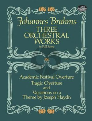 3 Orchestral Works Fullscore