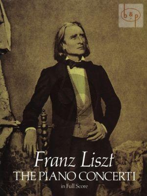 Liszt Piano Concerti (No.1 E-flat major and No.2 A-major) Full Score (Dover)
