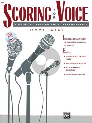 Joyce Scoring for Voice (Bk-Cd)