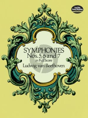 Beethoven Symphonies No.5-6-7 Full Score (Dover)