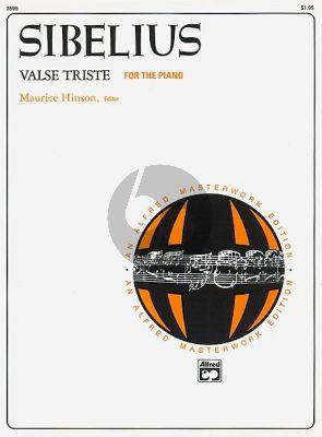 Sibelius Valse Triste Op.44 No.1 Piano (Maurice Hinson)