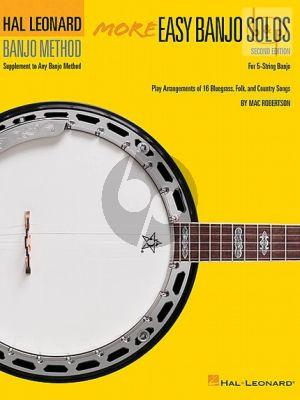 More Easy Banjo Solos for the 5 String Banjo