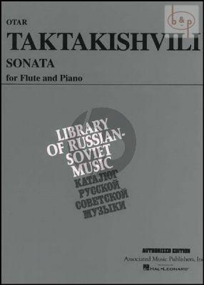 Taktaktishvili Sonata for Flute and Piano (edited by Louis Moyse)