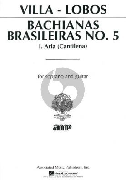 Bachianas Bras. No.5 Aria Soprano-Guitar