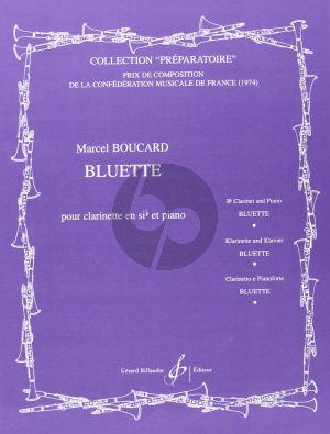 Boucard Bluette Clarinette et Piano (Prep.)
