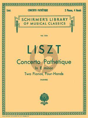 Concerto Pathetique e-minor (1865) Piano and Orchestra