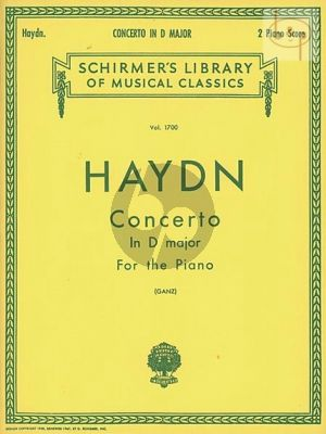 Concerto D-major (Piano-Orch.)