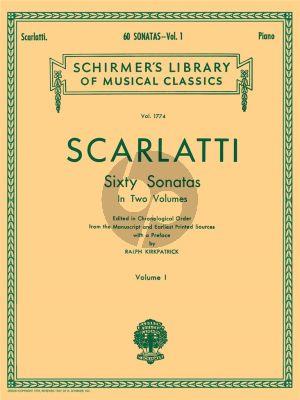Scarlatti 60 Sonatas Vol.1 Harpsichord (edited by Ralph Kirkpatrick)