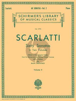 Scarlatti 60 Sonatas Vol.2 Harpsichord (edited by Ralph Kirkpatrick)