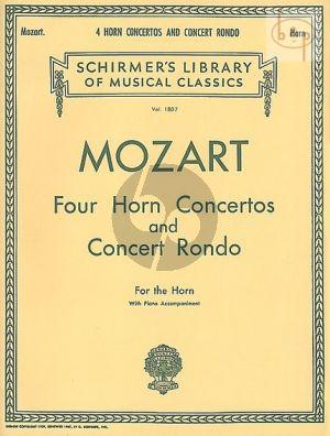 4 Horn Concertos and Concert Rondo