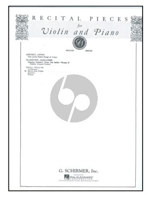 Kroll Banjo and Fiddle Violin and Piano