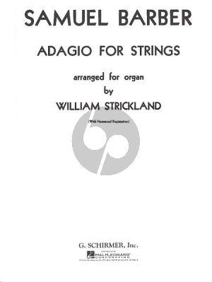 Adagio Op.11 (Strickland)
