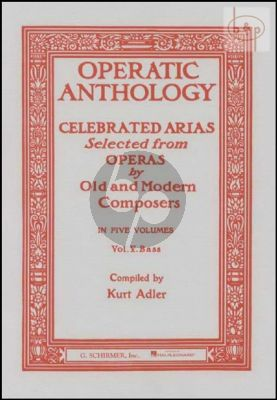 Operatic Anthology vol.5 (Bass)