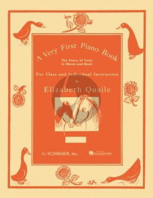 Quaile Very First Piano Book (Individual or Class)