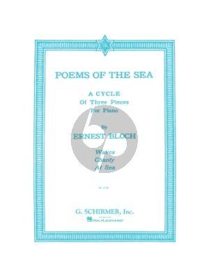 Bloch Poems of the Sea Piano solo