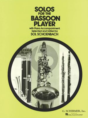 Solos for the Bassoon Player (edited by Sol Schoenbach)